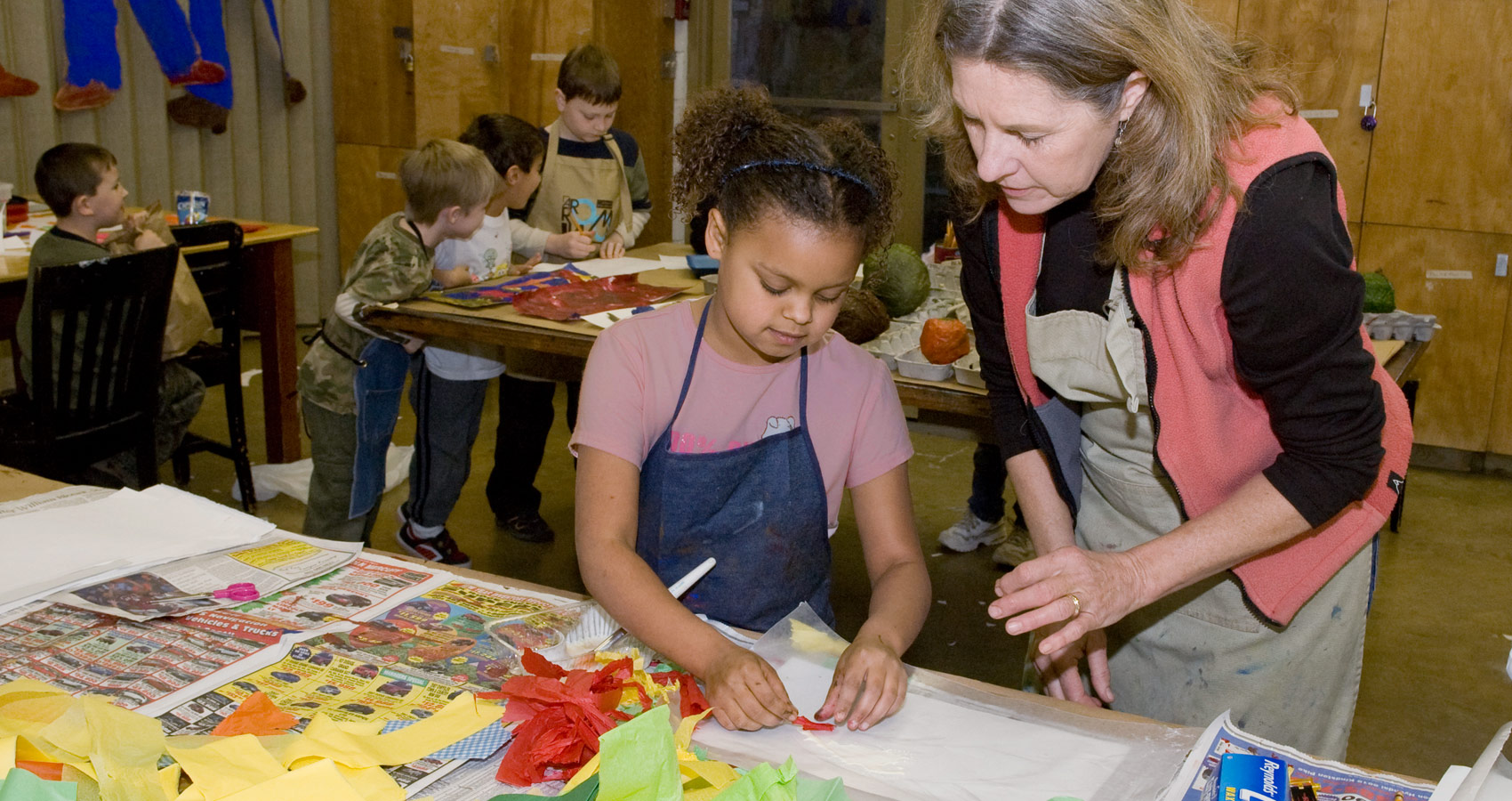 Art activities for special needs high school students for Crafts classes for adults