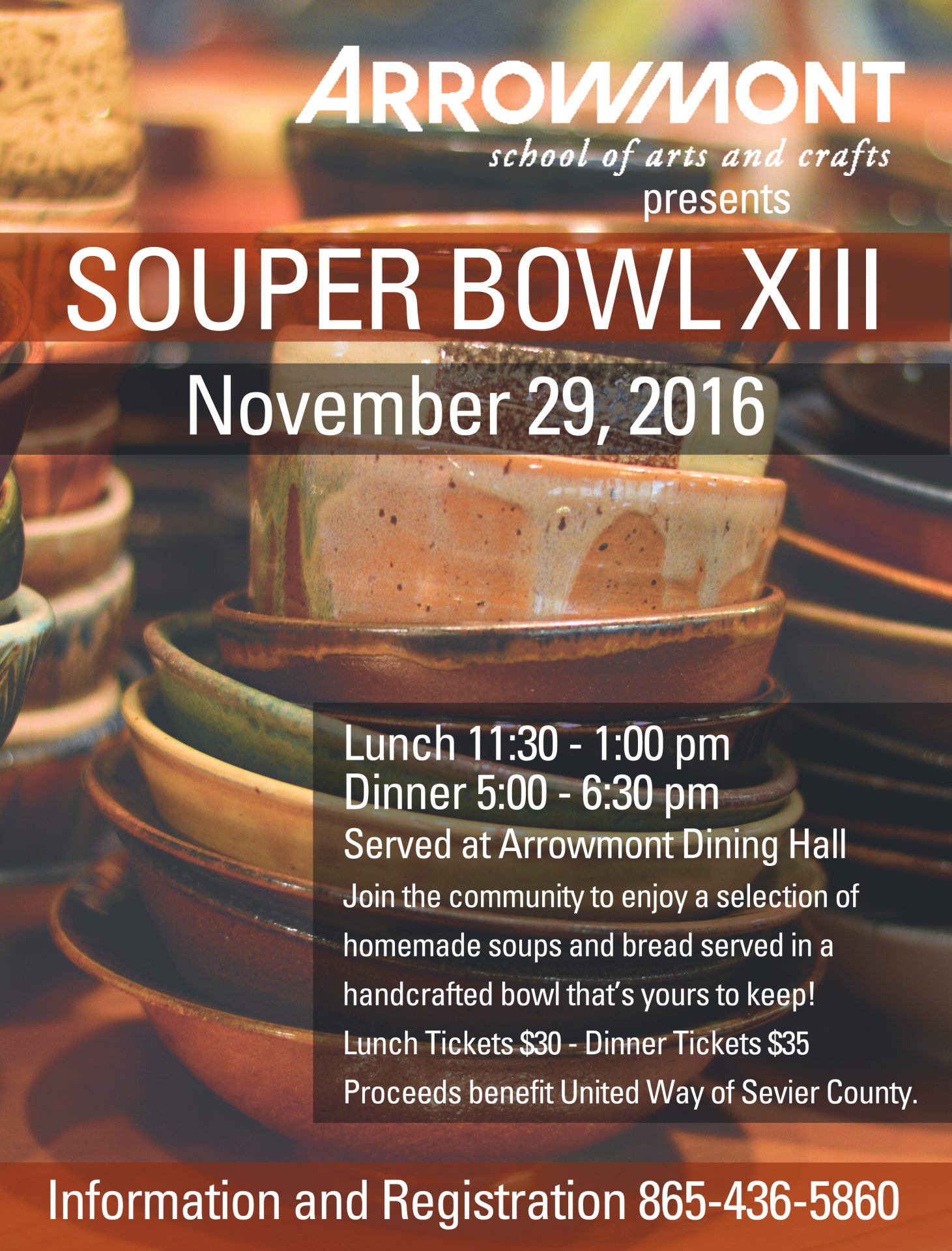 souper bowl xiii school of arts and crafts souper bowl xiii flyer