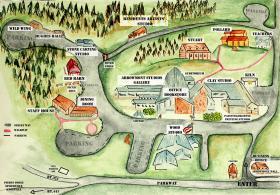 Arrowmont Campus Map