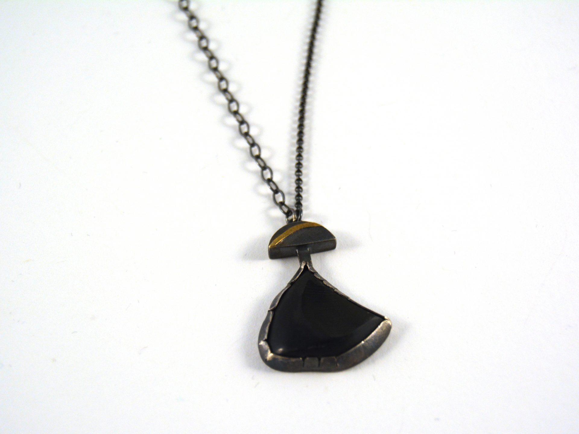 Janine decresenzo obsidian pendant necklace arrowmont school of janine decresenzo obsidian pendant necklace aloadofball Image collections