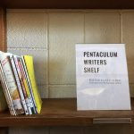 Pentaculum shelf in Heard Resource Center