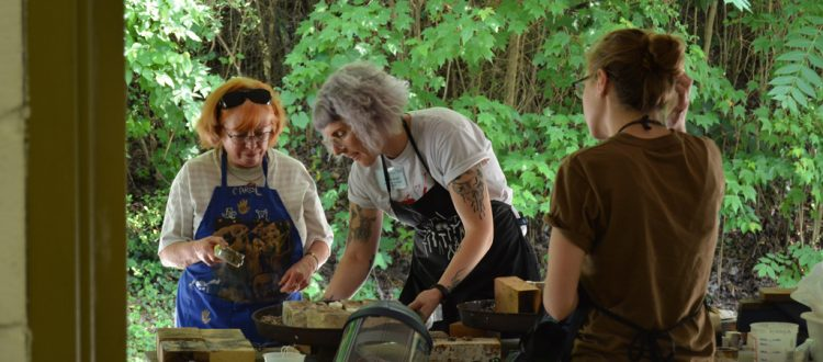 Jewelry Casting at Arrowmont with Emily Cobb