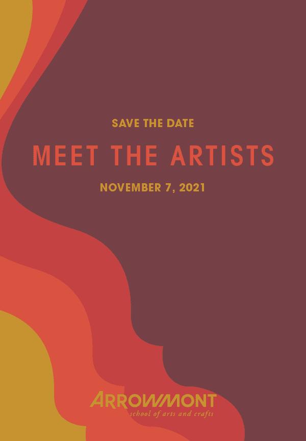 Meet The Artists November 7, 2021