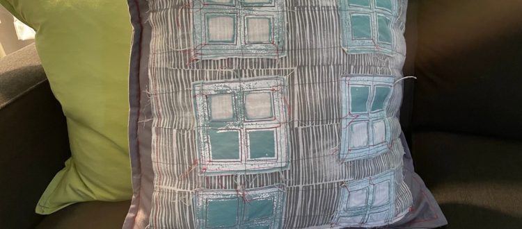 Block-Printed And Sewn Decorative Pillow Covers